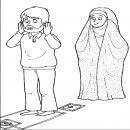 من باید چگونه رفتار کنم تا همسرم برای نماز صبح بیدار شود؟